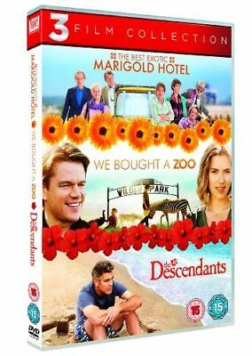 The Best Exotic Marigold Hotel / We Bought A Zoo / The Descendants [Uk] New Dvd