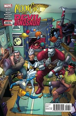 MOON GIRL AND DEVIL DINOSAUR #17, New, First print, Marvel Comics (2017)