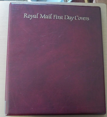 ROYAL MAIL FDC ALBUM , HOLDS 68 FDCs WITH NICE  ROYAL MAIL PAGES ...
