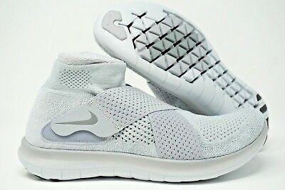 competitive price 1044a 44171 NIKE FREE RN Motion Flyknit 2 Mens Running Shoes Grey Size 10 11 12