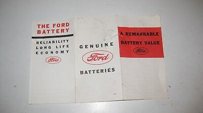1930s Ford Battery Brochure