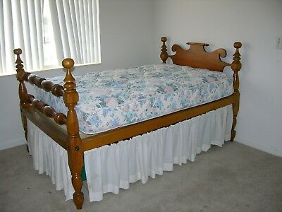 Antique Cannon Ball Bed, Rope Bed