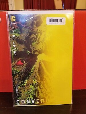 Convergence Swamp Thing (2015) #1 Variant  Vf