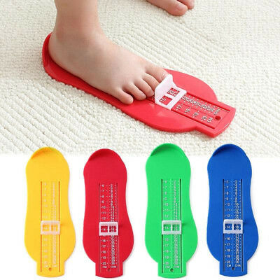 Kids Baby Foot Measuring Device Shoes Helper Size Gauge Measure Ruler Device AU