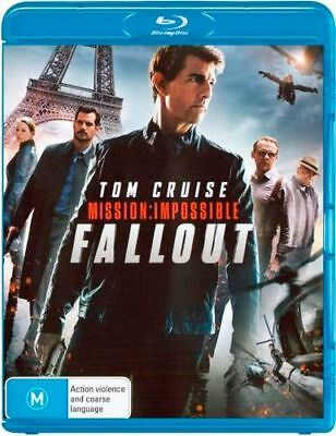 NEW Mission Impossible - Fallout Blu Ray Free Shipping