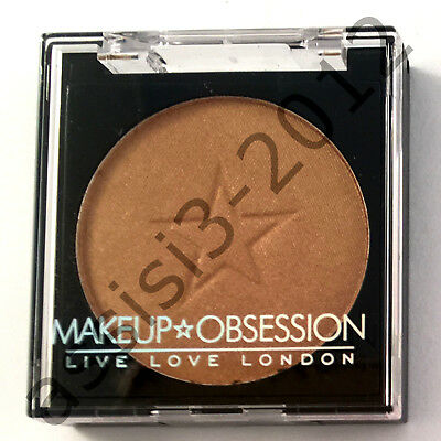 MAKEUP OBSESSION Blusher by Makeup Revolution in GOLDEN GIRL B110 NEW 2g Sealed