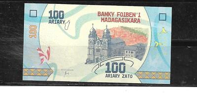 Madagascar 2017 100 Ariary New Unused Banknote Paper Money Currency Bill Note