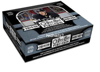 2015/16 Upper Deck Opeechee Platinum Hockey Hobby Box