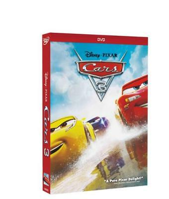Cars Trilogy DVD 1,2,3 Disney Bundle Combo Free Shipping New