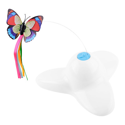 Kimba Cat Toy Teaser – Electric Rotating Butterfly Toys – Interactive for Cats