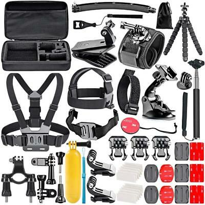 Neewer 50-In-1 Accessory Kit for GoPro Hero 7 6 5 4 3+ 3 2 1 Session 5 Black...