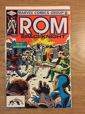Rom (1979) #31 Marvel  VF to NM