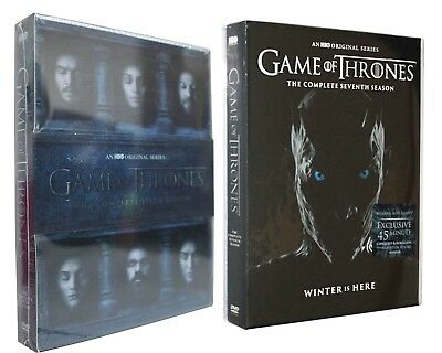 Game of Thrones: The Complete 6 7 Seasons 6th 7th (DVD) Box Set Bundle Combo 67