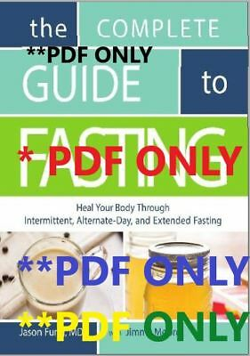 The Complete Guide to Fasting Heal Your Body by Dr Jason Fung