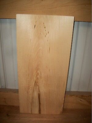 """1 Pc Basswood Lumber Wood Air Dried Board 1 1/2"""" Thick Lot 301W Block Blank"""