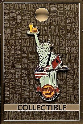 Hard Rock Cafe New York Pin Core Statue of Liberty City 2017 HRC NYC LE NEW