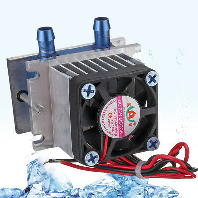 12V Thermoelectric Peltier Refrigeration Cooling Cooler Fan System Heatsink