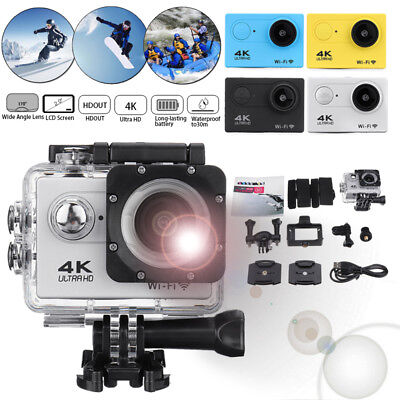 SJ9000 Wifi 1080P 4K Ultra HD Sport Action Camera DVR DV Camcorder  Recorder