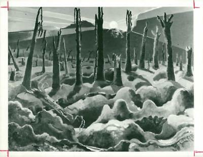 We are making a new world by Paul Nash in 1918 - Vintage photo
