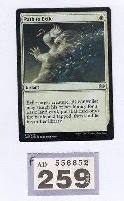 MTG Magic the Gathering - Path to Exile - Modern Masters 2017 - Foil