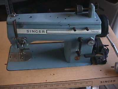 Singer 20u Industrial Zigzag Straight Stitch Sewing Machine
