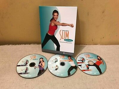 Debbie Siebers 3 Dvd Box Set Fitness Advanced Sculpting System Workout Training