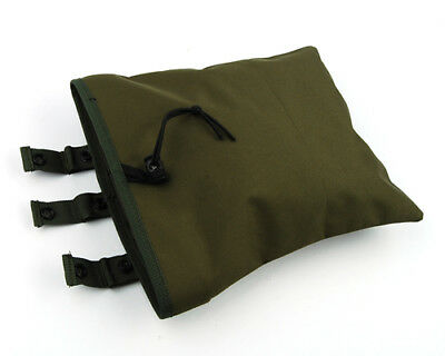 Tactical Military Army Utility Magazine Mag Ammo Dump Drop Pouch Bag Olive Drab