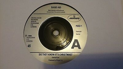 """Band Aid - Do They Know It's Christmas? 7"""" Vinyl Single"""