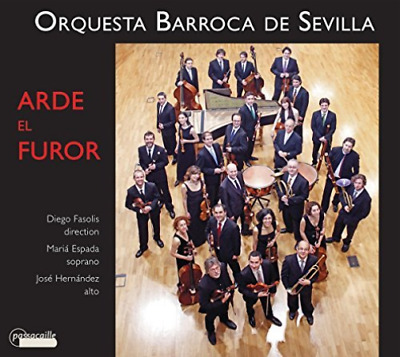VARIOUS COMPOSERS-Arde el Furor (18th century Andalusian Music) CD NEU