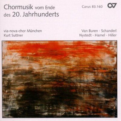 VARIOUS COMPOSERS-Choral Music of the late 20th Century CD NEU