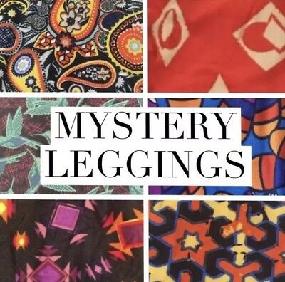 LuLaRoe kids L/XL NWT New leggings 8-12 Large XLarge Mystery Solid And Pattern