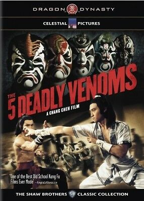 THE 5 DEADLY VENOMS New Sealed DVD Shaw Brothers Classic Collection Five