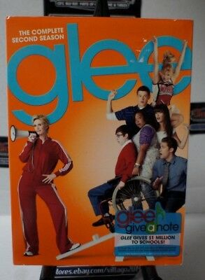Glee: The Complete Second Season NEW DVD FREE SHIPPING!!