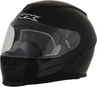 AFX FX-105 Solid Full Face Motorcycle Helmet #