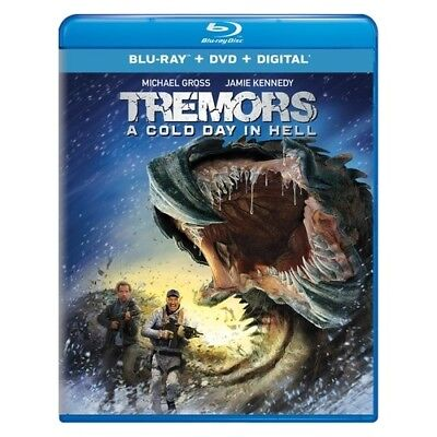 Uni Dist Corp Mca Br63189413 Tremors-Cold Day In Hell Combo (Blu-Ray/dvd/digi...