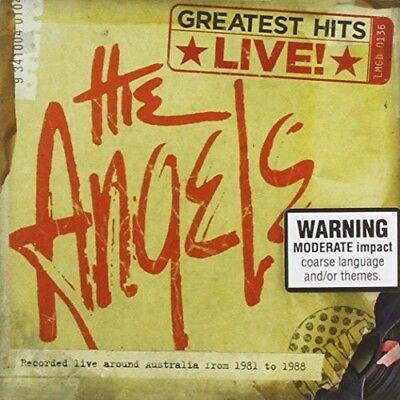 The Angels - Greatest Hits Live * New Cd