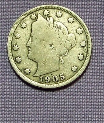 1905 Liberty Head V Nickel     *91231203