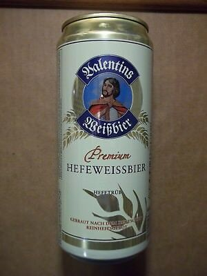 32 oz.  (950ml)  Valentins Weizbier Hefeweissbier Beer Can FREE SHIPPING in USA
