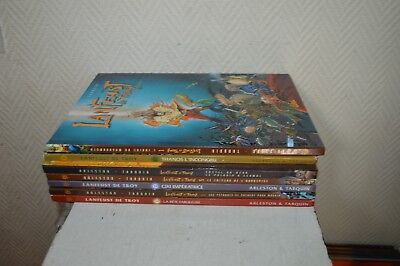 Lot Complet Bd Tome 1 A 8 Lanfeust De Troy  Edition Soleil Arleston -Tarquin Tbe