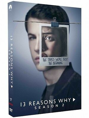 13 Reasons Why: The Complete Second Season 2 (Brand New, DVD, 3-Disc Set)