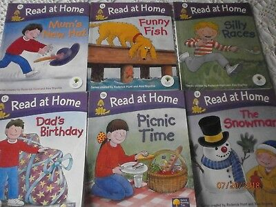 Oxford Reading Tree Read At Home level 1 getting ready to read lot of 6 books