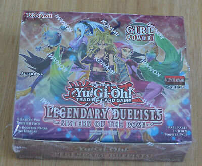 Yu-Gi-Oh! Legendary Duelists Sisters of the Rose Display Deutsch LED4 1. Auflage