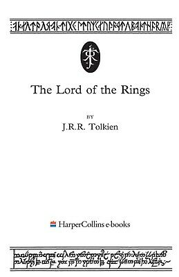 The Lord of the Rings by J. R. R.Tolkien, complete version 1200 page paperback