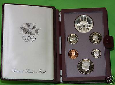 1984 PRESTIGE Proof Set. U.S. Mint Made. AS PICTURED