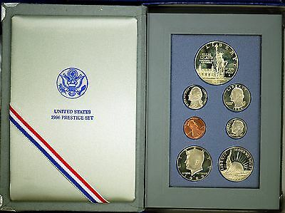 1986 PRESTIGE Proof Set. U.S. Mint Made. AS PICTURED