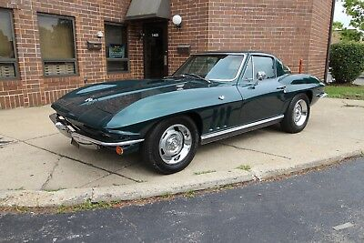 1966 Chevrolet Corvette Coupe - Green/Green - 350HP 1966 Chevrolet Corvette Coupe - Green/Green - 350 HP 1964 1965 1967