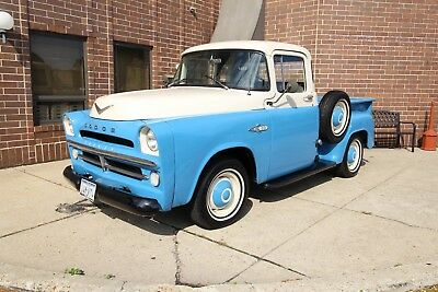 1957 Dodge Pickup - V8 - RARE Push Button Automatic - Frame Off 1957 Dodge Pickup push button rare Chevy Ford 1953 1954 1956 1952 1952 truck