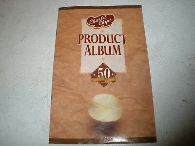 1993-94 Charles Chips Product Album 50 Years Booklet