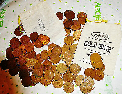 Unsearched 1940-1958 Wheat Cent Penny 2 Roll 100 Coins From Older Collection Bag