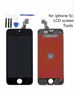 For iPhone 5C Black LCD Touch Screen Display  Assembly Unit plus Tools